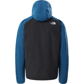 The North Face Stratos Giacca Uomo, asphalt grey/moroccan blue/meridian blue